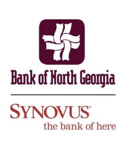 Bank of North Georgia SYNOVUS the bank of here logo