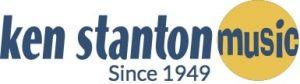 ken stanton music Since 1949 logo
