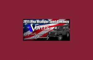 Marietta High School Band 2019 Jeep Wrangler Giveaway