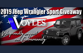 Marietta High School Band 2019 Jeep Wrangler Giveaway